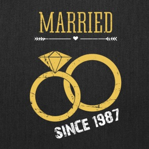 Married since 1987 - Tote Bag