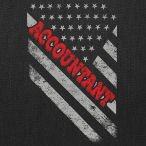 Accountant Flag - Tote Bag