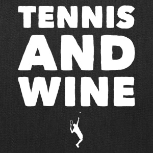 Tennis and wine - Tote Bag