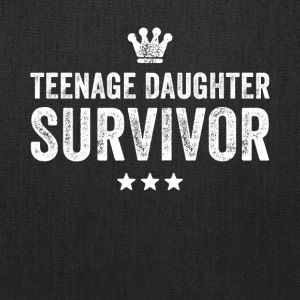 Teenage daughter survivor - Tote Bag