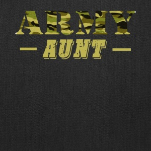 Army Aunt - Proud Army Aunt T-Shirt - Tote Bag