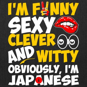 Im Funny Sexy Clever And Witty Im Japanese - Tote Bag