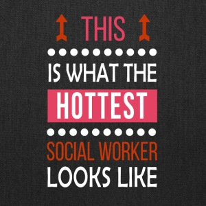 Social Worker Job Shirt/Hoodie/Tank Gift-Hottest - Tote Bag