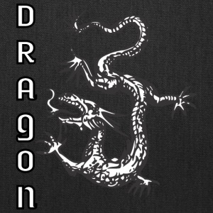 down_looking_dragon - Tote Bag