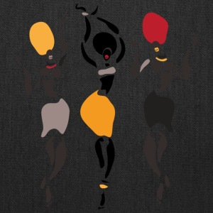 African dancers silhouette - Tote Bag