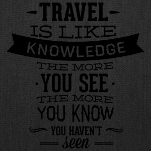 travel_like_knowledge - Tote Bag