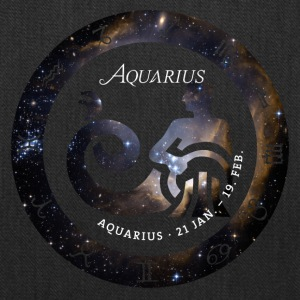 aquarius horoscope januar birthday astrology previ - Tote Bag