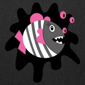 cute piranha - Tote Bag