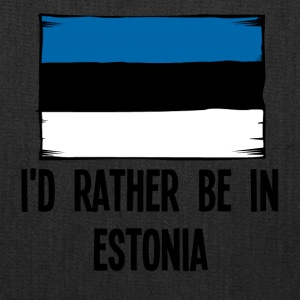 I'd Rather Be In Estonia - Tote Bag