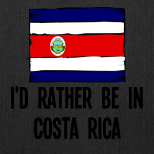 I'd Rather Be In Costa Rica - Tote Bag
