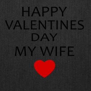 Hapy Valentines Day My Wife - Tote Bag