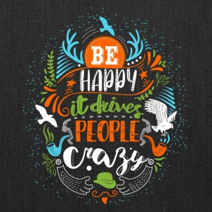 Be happy - Tote Bag