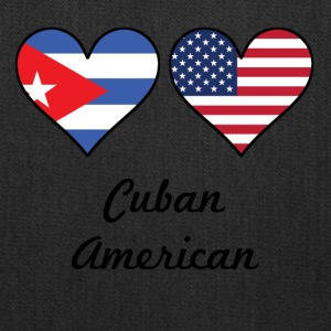 Cuban American Flag Hearts - Tote Bag