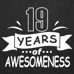 19 years of awesomeness - Tote Bag