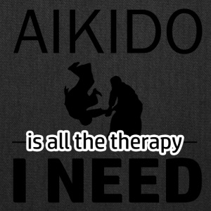 Aikido is my therapy - Tote Bag