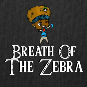 Breath Of The Zebra | Zebra Nation - Tote Bag