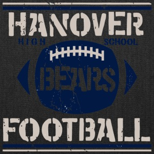 Hanover High School Bears Football - Tote Bag