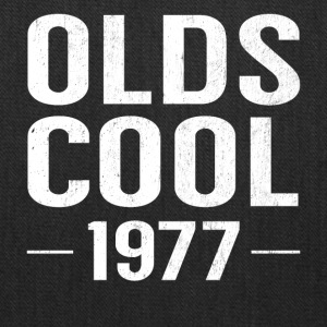 Birthday 40 Years Old Funny Olds Cool 1977 Pun - Tote Bag