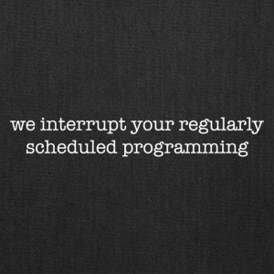 Program interrupted - Tote Bag