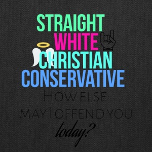 Straight White Christian Conservative - Tote Bag