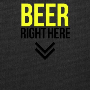 Beer right here - Tote Bag