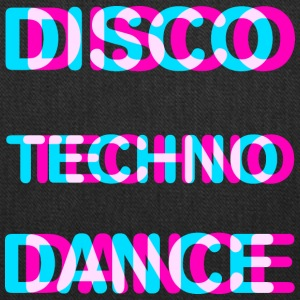 Disco dance techno - Tote Bag