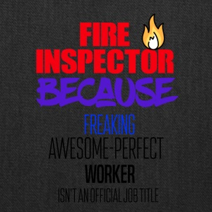 Fire Inspector - Tote Bag