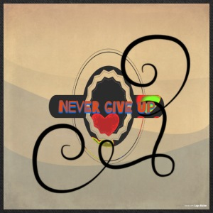Never Give Up - Tote Bag