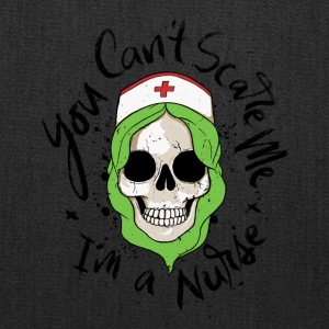 Halloween. Scare Me. Nurse. Skull. October. Scary - Tote Bag