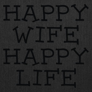Happy Wife Happy Life - Tote Bag