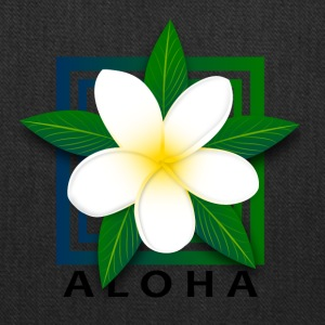 Tropical Island Flower w/ Aloha - Tote Bag