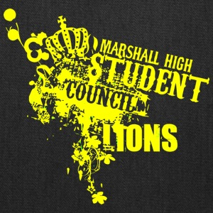 MARSHALL HIGH STUDENT COUNCIL LIONS - Tote Bag