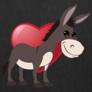 love donkeys - Tote Bag