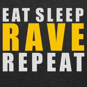 EAT SLEEP RAVE REPEAT - Tote Bag