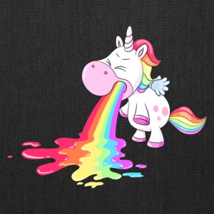 Unicorn puke a rainbow - Tote Bag