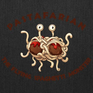 pastafarian FLYING SPAGHETTI MONSTER - Tote Bag