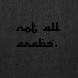 not all arabs - Tote Bag