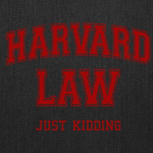 Harvard Law Just Kidding - Tote Bag