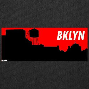 BRKLYN red - Tote Bag