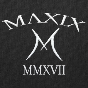 Official MAXIX MMXVII 2017 Brand Logo white - Tote Bag