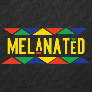 Melanated (Yellow Letters) - Tote Bag