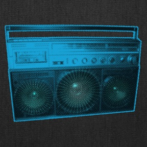 Boombox - Old school - Ghetto Blaster - Tote Bag