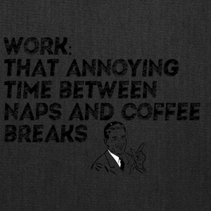 WORK NAPS COFFEE - Tote Bag
