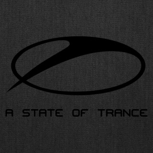 A State of Trance Logo black - Tote Bag
