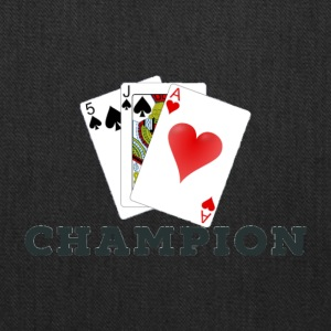 Card Game 45s Champion. - Tote Bag