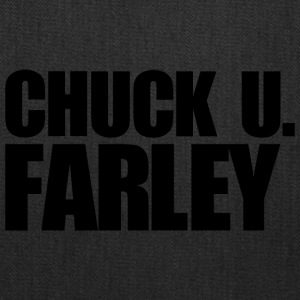 CHUCK U FARLEY BLACK - Tote Bag