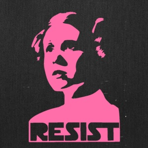 leia resist - Tote Bag