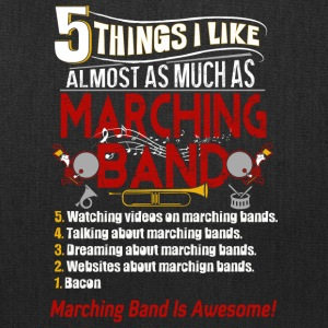 I Like Almost As Much As Marching Band T Shirt - Tote Bag