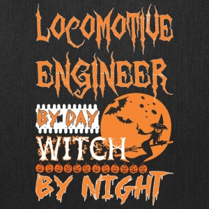 Locomotive Engineer By Day Witch Night Halloween - Tote Bag
