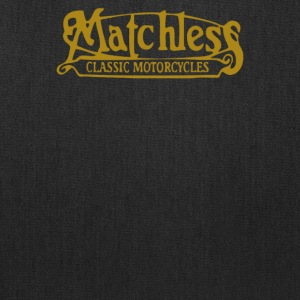 Matchless Biker Classic Gold Logo - Tote Bag